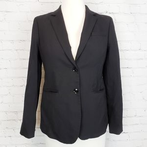 Banana Republic Two Button Black Blazer Size 4P